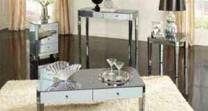 Утонченная изысканность – мебель с зеркальной поверхностью