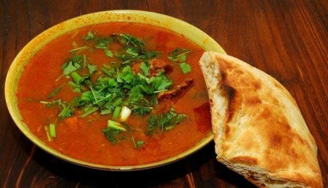Как приготовить суп харчо быстро и вкусно