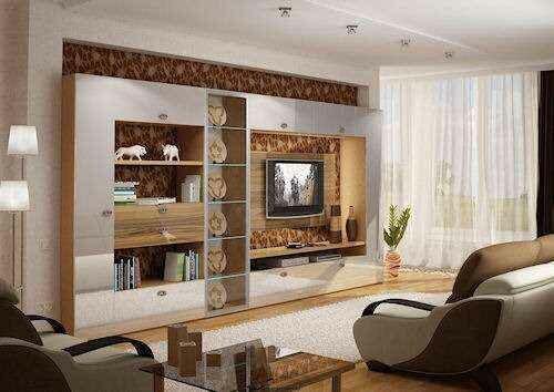 Дизайнерская мебель для гостиных