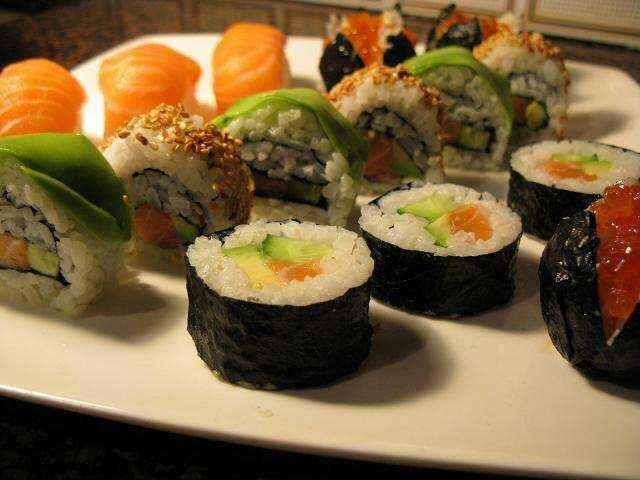 Гункан суши: аппетитные кораблики