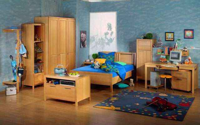 Мебель из массива сосны в детскую - эстетический выбор с пользой для здоровья от разумных родителей
