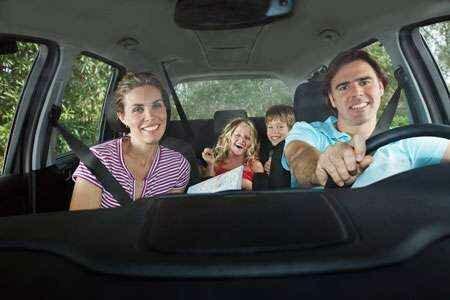 Путешествие на автомобиле с детьми