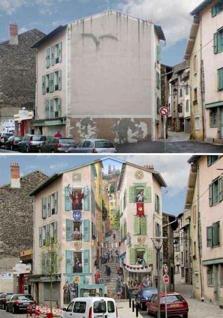 Трёхмерный стрит-арт